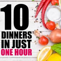 Super Easy Freezer Cooking. 10 Meals in an Hour.Rotating Menus.