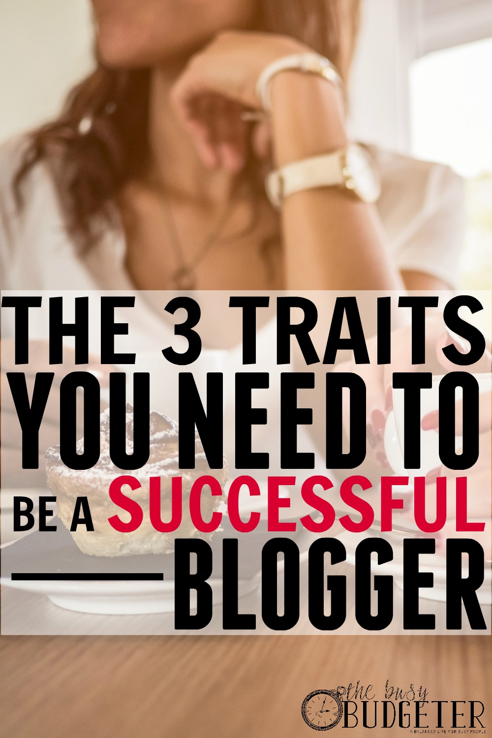 The Three Traits You Need to be a Successful Blogger. LOVED THIS! Great read and at least 3 of my favorite bloggers were represented. I'm blogging full-time too and couldn't agree more. Saving this to share with readers when they ask if anyone can make a living from blogging.