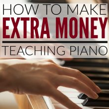 How to Make Money Teaching Piano