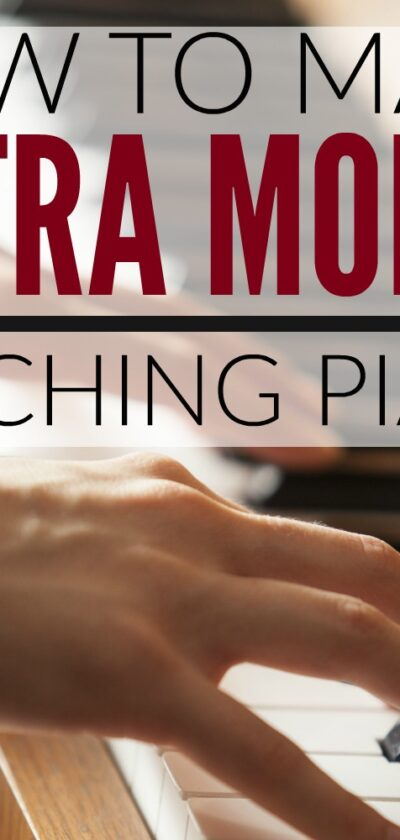 how to make money by teaching piano