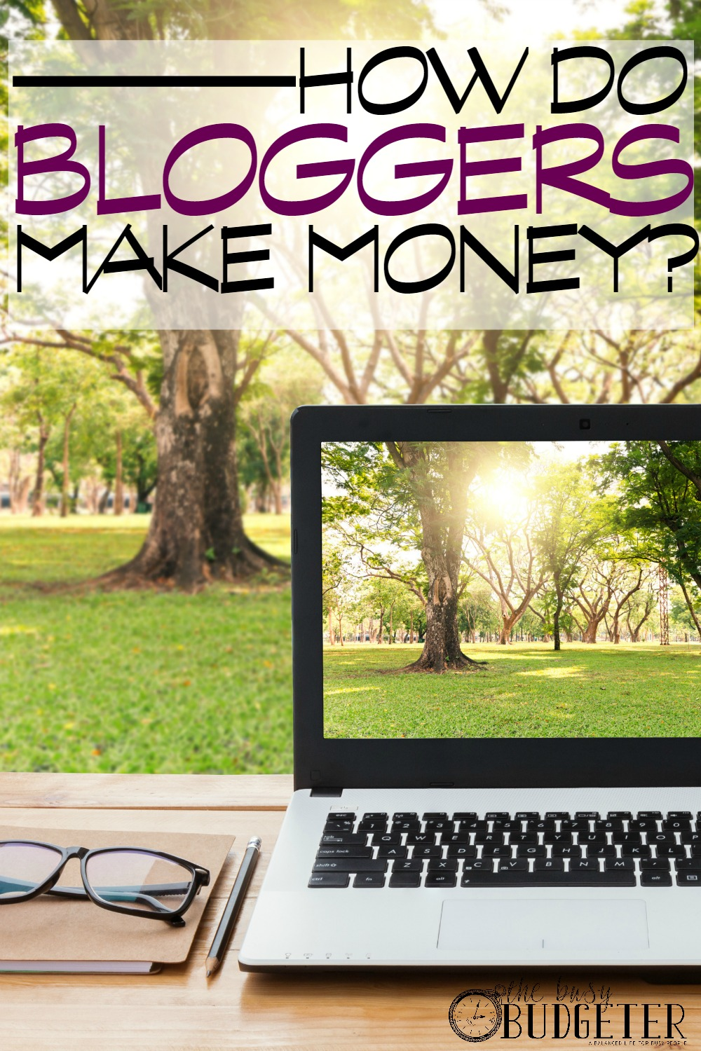 How do Bloggers Make Money? I have been trying to figure out how bloggers make money for forever! I thought it was just ads on the site. This is a great resource. It's the first thing I read where they actually explained step by step where the money comes from and how they got started. Sooooo tempted to start blogging...