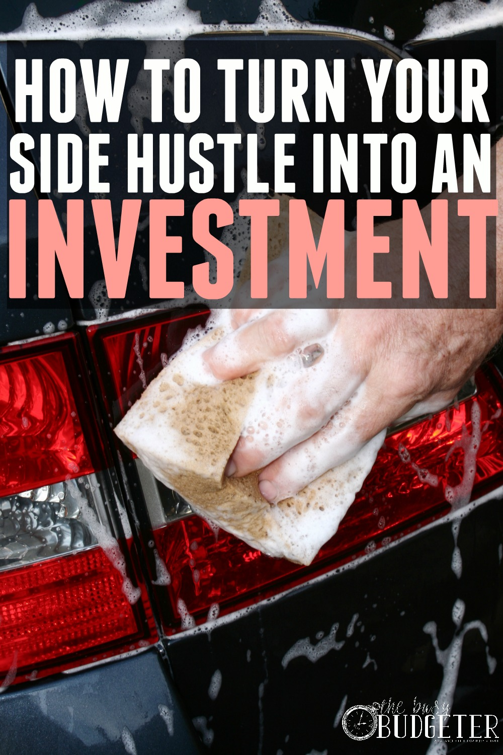 How to turn your side hustle into an investment. DUDE! That's impressive. That's called winning at life right there.