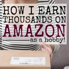 How I Earn Thousands by Selling on Amazon