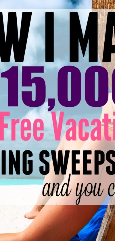 entering online sweepstakes