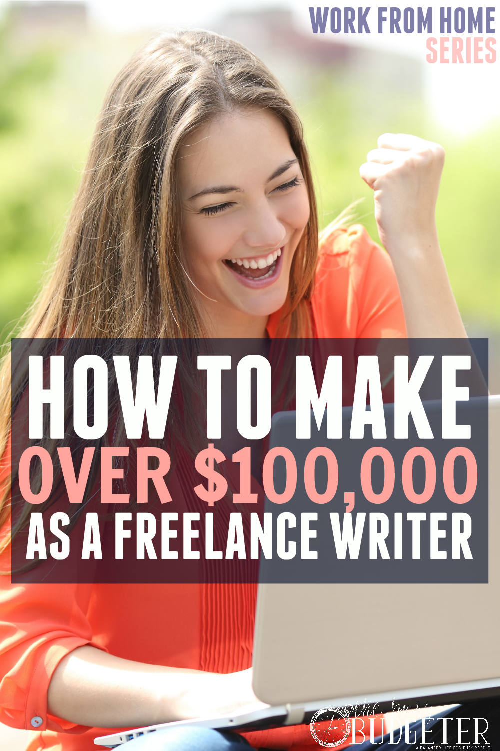 How to make six figures as a freelance writer. DUDE! I make about $200 per article right now as a freelance writer but HAD NO IDEA that people made this much from freelance writing! Super good article. Save for later. Love the way she clearly laid out the steps she took to go from beginner writer to expanding business to such a high income without working more hours. LOVE! Great tips!