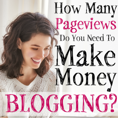 How Many Pageviews Do You Need to Make Money Blogging?