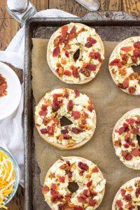 bb breakfast pizzas in progress 2