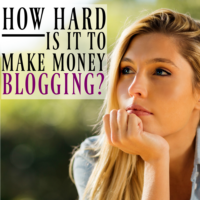 How Hard is it to Make Money Blogging?