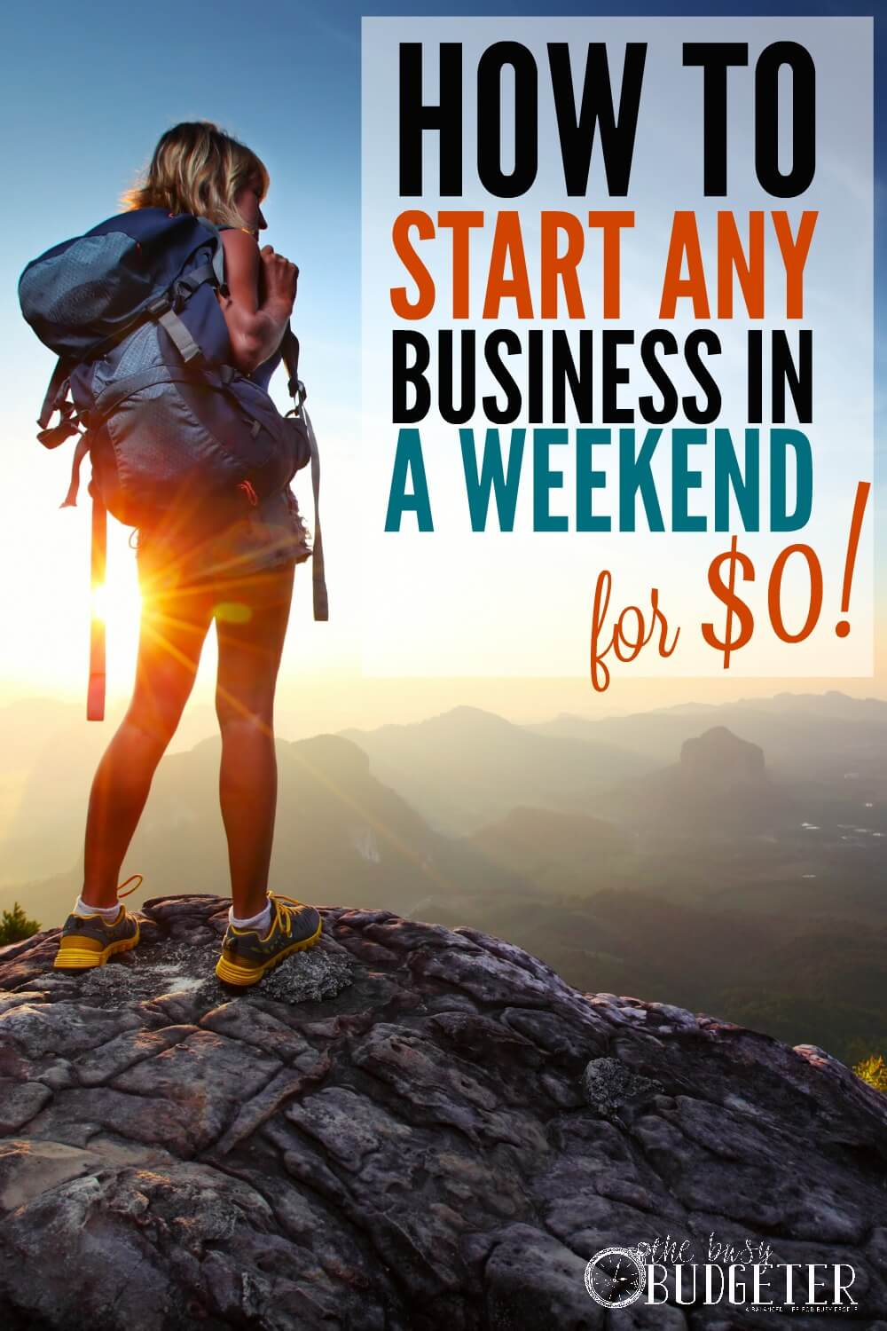 how to create a side business this weekend for 0 the busy budgeter