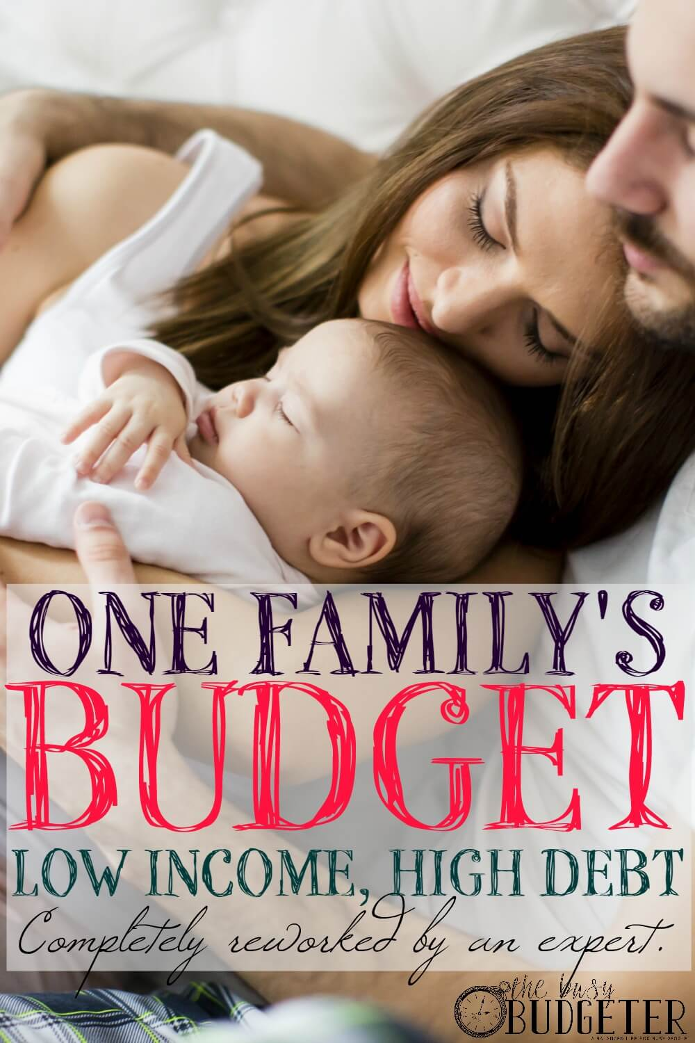 """One Family's Budget with Low Income and High Debt, Completely Reworked into a Long Term Financial Guide by an Expert. THIS IS THE BEST THING I HAVE *EVER* READ ON PINTEREST. I hear about budgets ALL THE FREAKING TIME. But seeing in such an honest and open and incredibly detailed way of every step of it AND How it relates to your actual life. I wish more than anything there were more ways to see this, real numbers, real life and not just a """"Pinterest worthy perfect budget"""" that no one ever sticks to."""