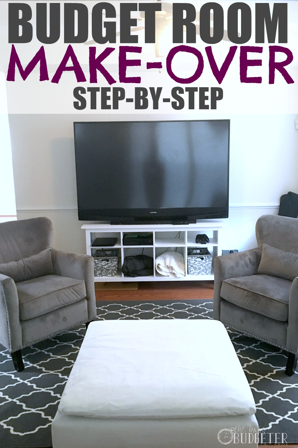 DIY Room Makeover: So excited about this! Maybe I can finally make-over our family room without going broke...and this great info might actually convince my husband too! ;)