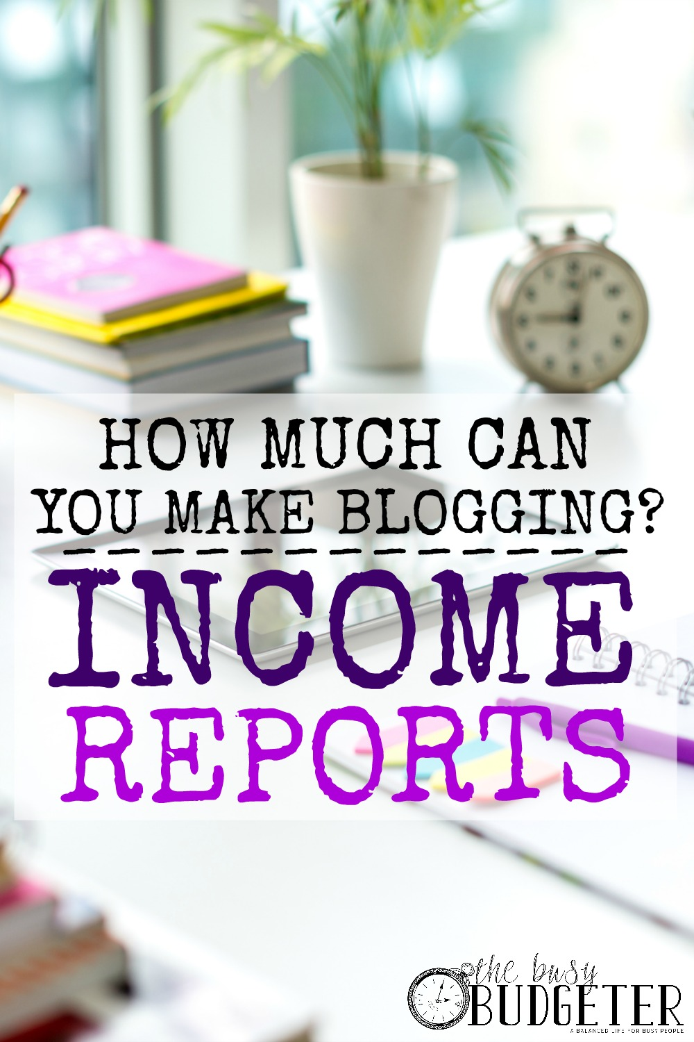 Blog income reports- How much money can you make blogging. I love seeing how her blog income changed from the beginning. She makes in a month blogging what I make in a year and she only started last year!!