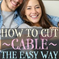 How to Cut Cable the Easy Way