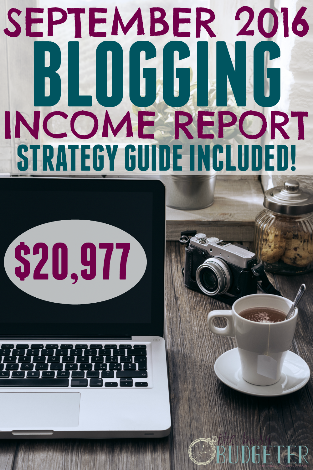 September 2016 Blog Income Report. Details the strategy she used to grow her blog to over $20,00/month income in less than two years! She was making a full-time income from blogging less than 10 months after starting her blog! This is insanely awesome! I make just a little over than in a year! Great blogging tips, and she even has ideas on how to monetize the blog and make extra money from home. I love the way she tracks her blogging income.