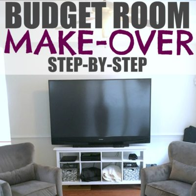 DIY room makeover