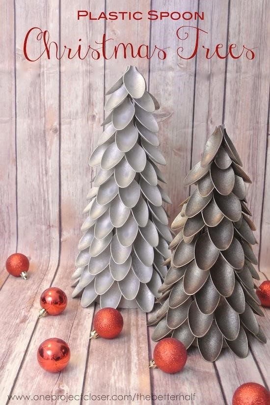 This christmas tree project is so cool, and I could use up all those old spoons I have www.busybudgeter.com
