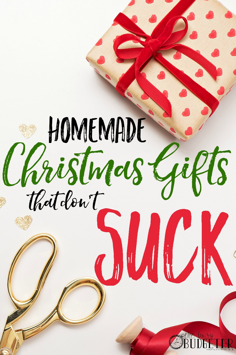 Cheap DIY Christmas Gifts That Don't Suck - The Busy Budgeter