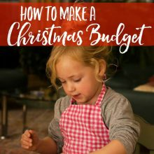 How to Create A Holiday Budget That Lets You Enjoy The Season More