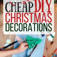 Cheap & Easy DIY Christmas Decorations