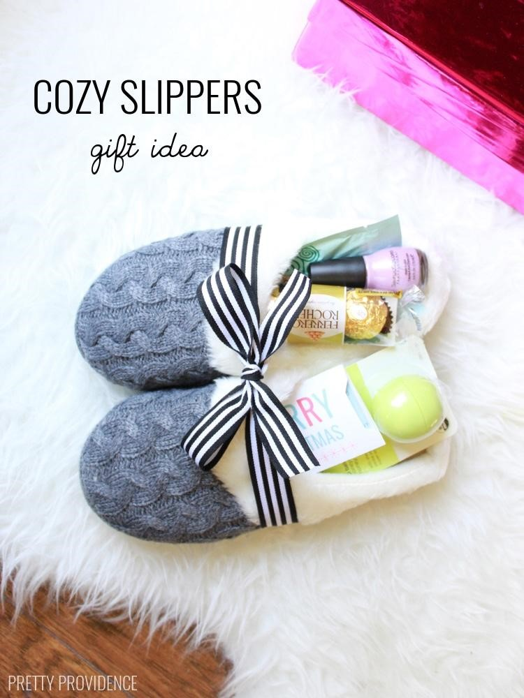 """Anything can be a """"basket"""" when you're giving gifts! www.busybudgeter.com"""