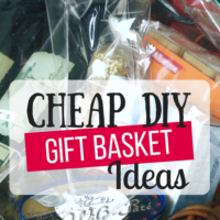 Cheap DIY Gift Baskets