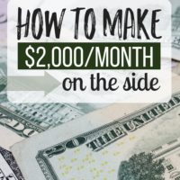 How to Make $2,000 in a Month