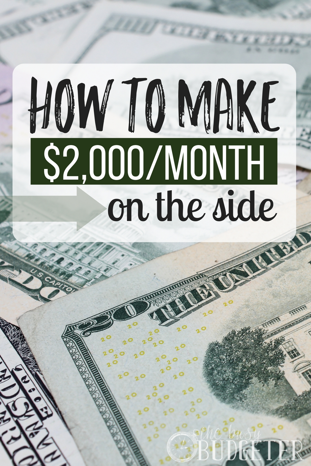 I do 3 of these already and make over $1,500/month as a stay at home mom. Excited to add a few more in. I'd love to make $2,000 a month every month consistently. The more time I spend making money on the side, in extra job.. the more I realize how easy it is to make extra money from home.