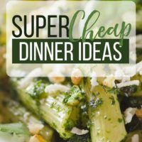 Cheap Dinner Ideas