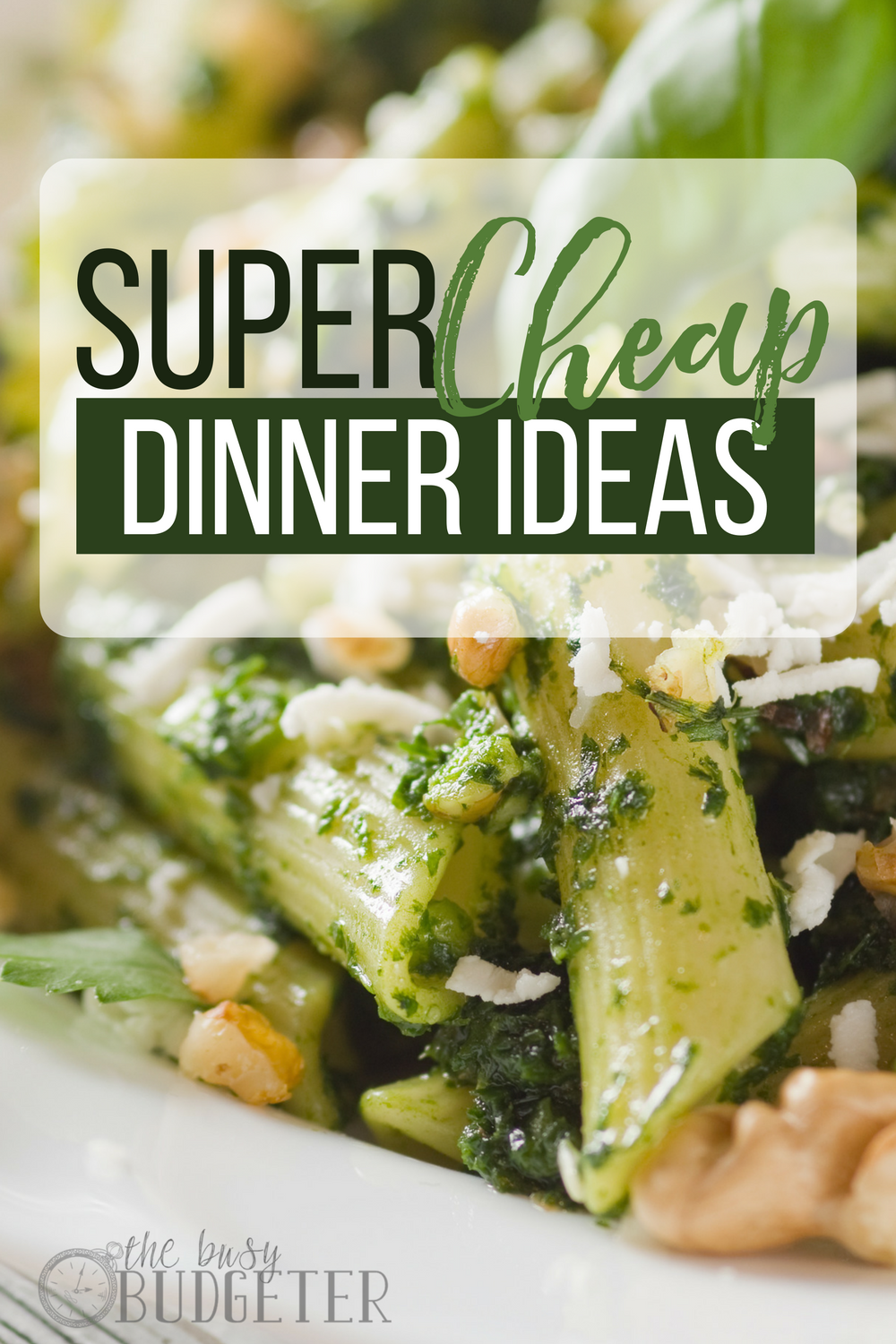 Great list! Our grocery budget is tight and I needed cheap dinner ideas to fill up my menu plan for the month. There were tons of good ones in here!