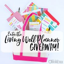 Enter the Living Well Planner Giveaway!