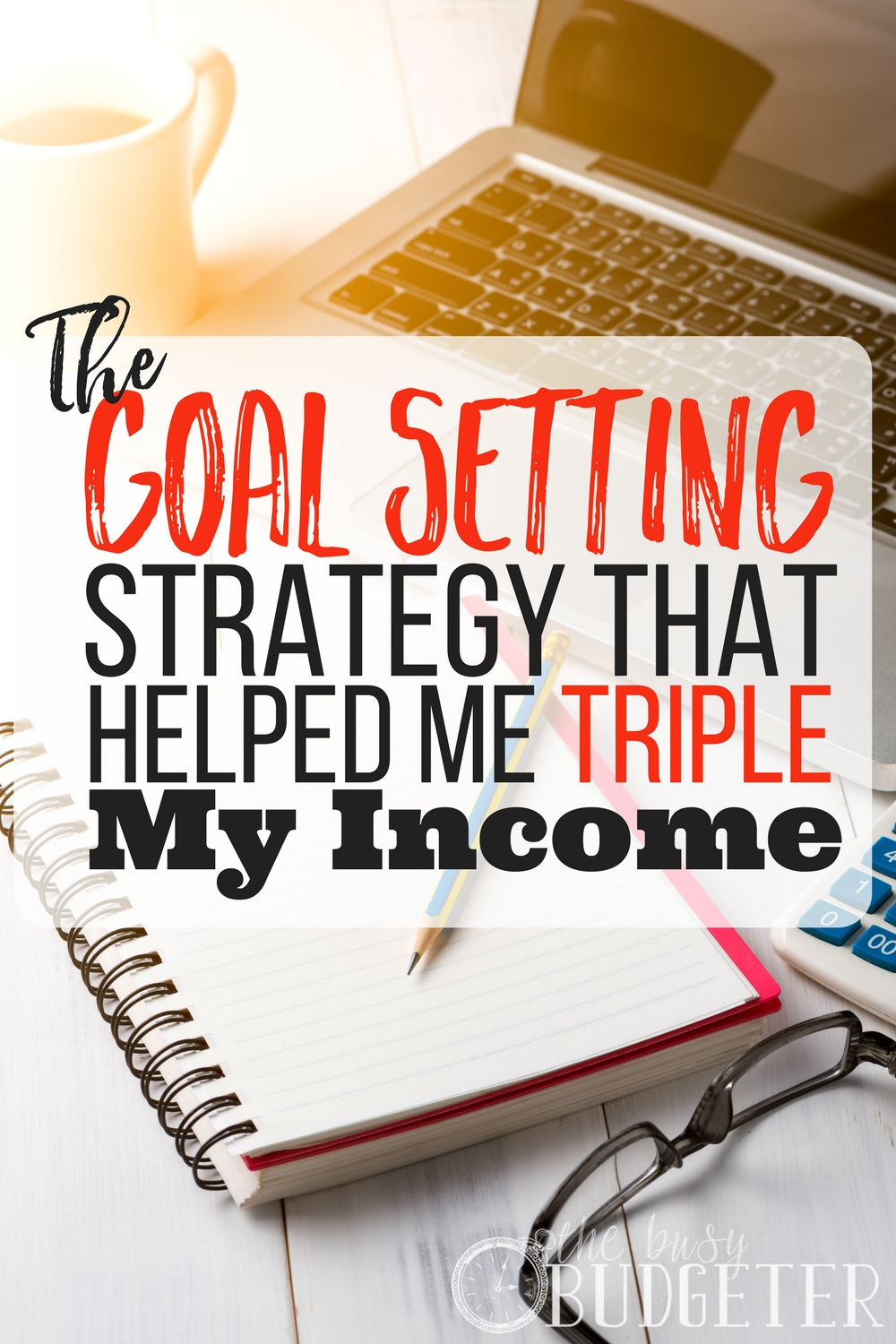 The Simple Goal Setting Strategy That Helped Me Triple My Income. This information is awesome! I have been struggling for so long to make my side job a full time gig and I realized today that what I really need is an action plan. These steps made it it easy!