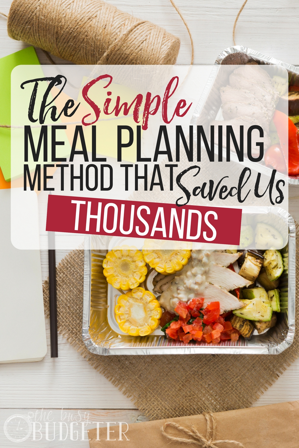 The simple meal planning method that saved us thousands. Finally, someone talks you through the process for simple meal planning. This is something that does not come naturally to me and it's so easy to just grab a pizza. I really want my family to have better healthier meals!
