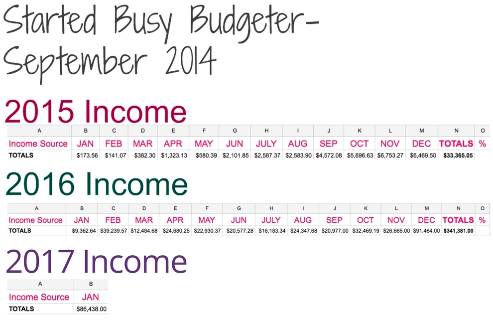 Just look how easy it is to increase your income by blogging! This is such a great idea! www.busybudgeter.com