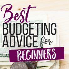 Best Budgeting Advice for Beginners