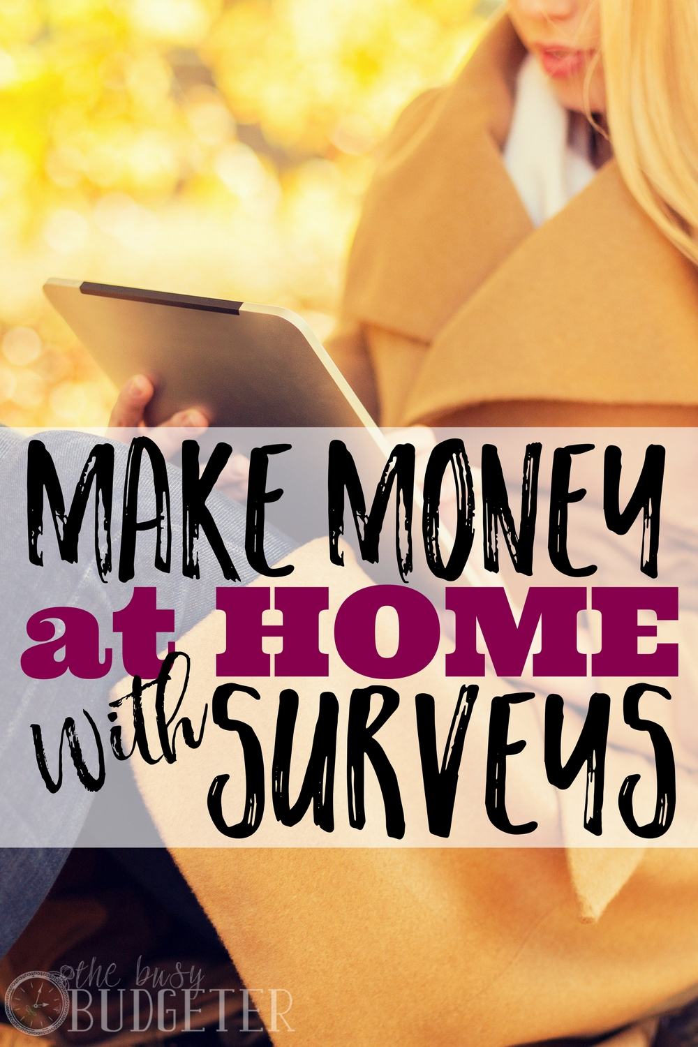 I can't even begin to tell you how much I love easy ways to make money from home! I never knew that I could actually make money with surveys, but this article tells you exactly how you can make it work for you!  Who doesn't love having some extra money-- am I right??