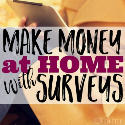 How You Can Make Extra Money at Home With Surveys