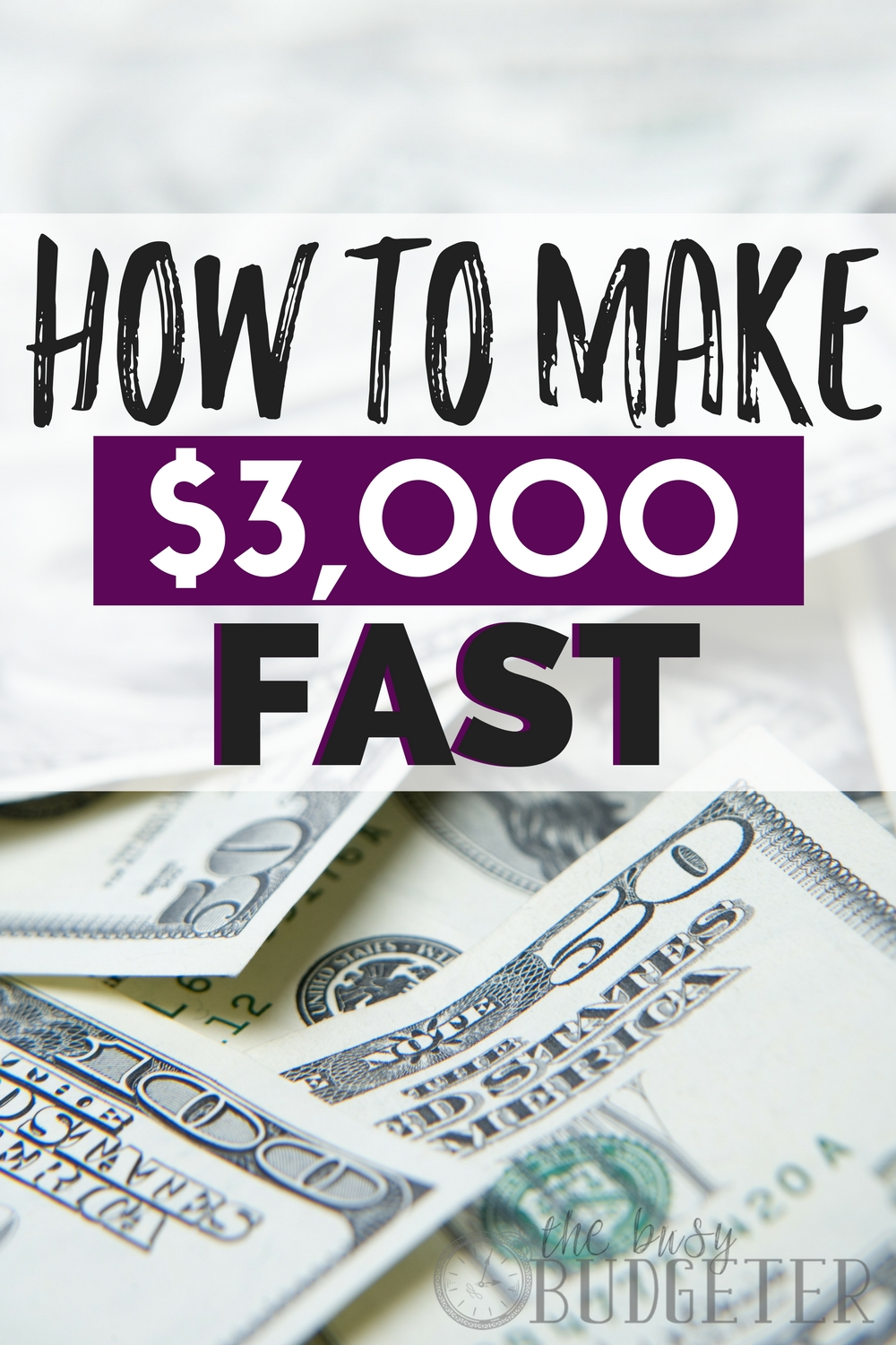 I definitely never thought there was a way to make $3,000 fast, and I was skeptical clicking on this article but I'm so glad I did! I never even thought of these easy ways to make money quickly and I'm so excited to try them out! Great read!