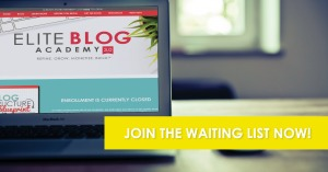Elite Blog Academy has helped make my blog more accessible and I'm having fun learning more! www.busybudgeter.com