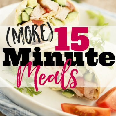 15 minute meals