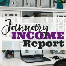 January income report and the future of income reports