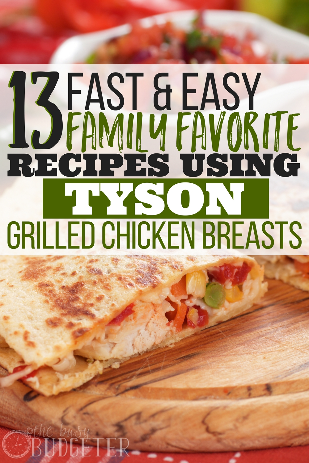 Fast and easy is an understatement! Not only are these super simple recipes easy and cheap to make but my family loves them. So glad I found this, total game changer for when I need diner ideas on busy nights!!