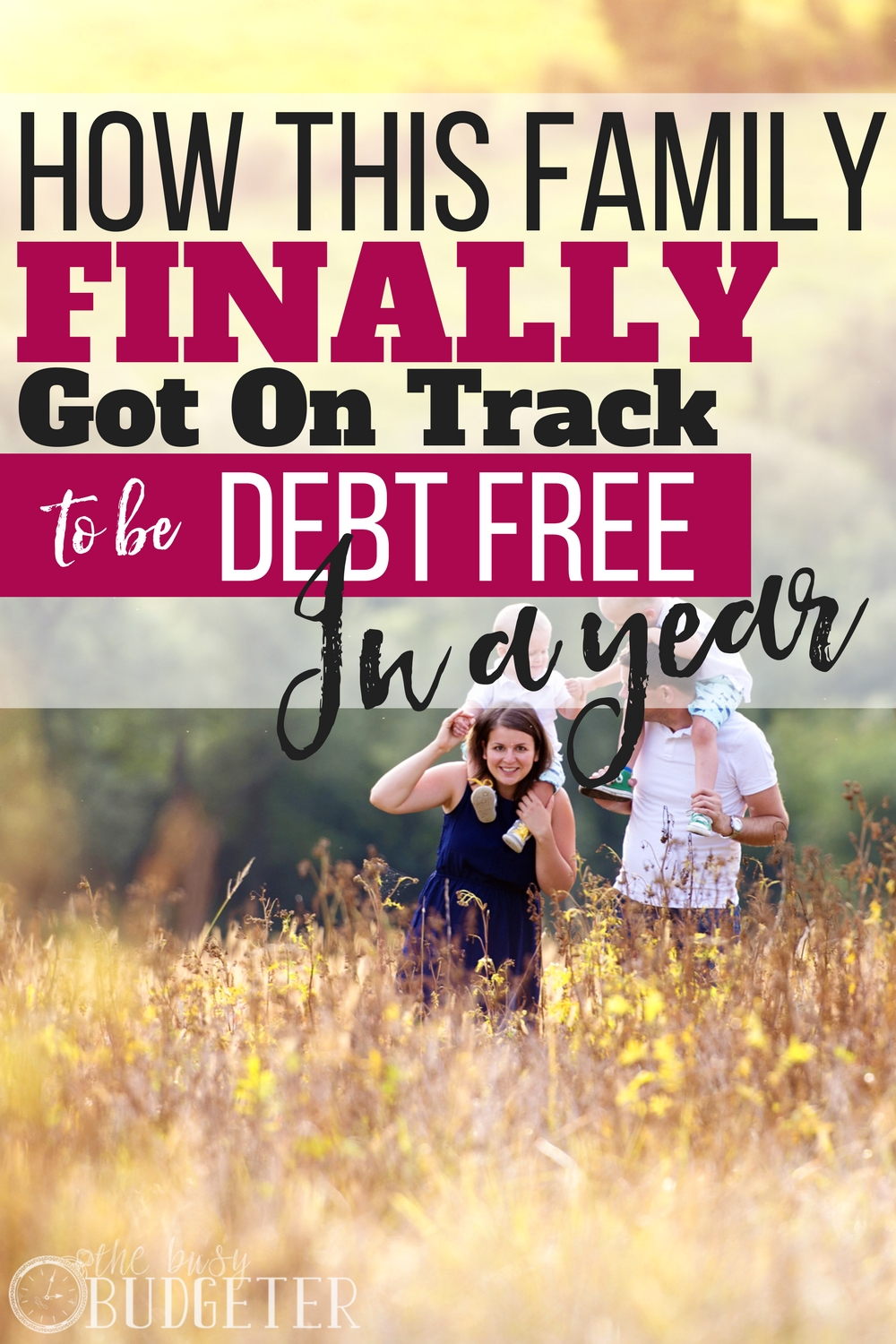 This article really made me think about my money habits and how spending on seemingly small things can really add up. Making simple changes has helped us stay on budget and we are hoping to get on track to be debt free just like this family!