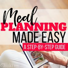 Meal Planning Made Easy: A Step-By-Step Guide + Ideas