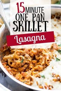 This lasagna is perfect for family dinner night - everyone loves it! One of my favorite quick family dinner recipes that we can't live without!