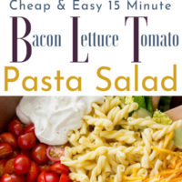 15-Minute BLT Pasta Salad
