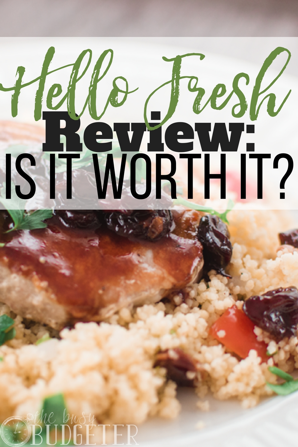 It's so refreshing to find such an honest Hello Fresh review! I've always wondered if this was worth it and if it would really help me with my grocery budget. I'm so glad I stopped to read this today!