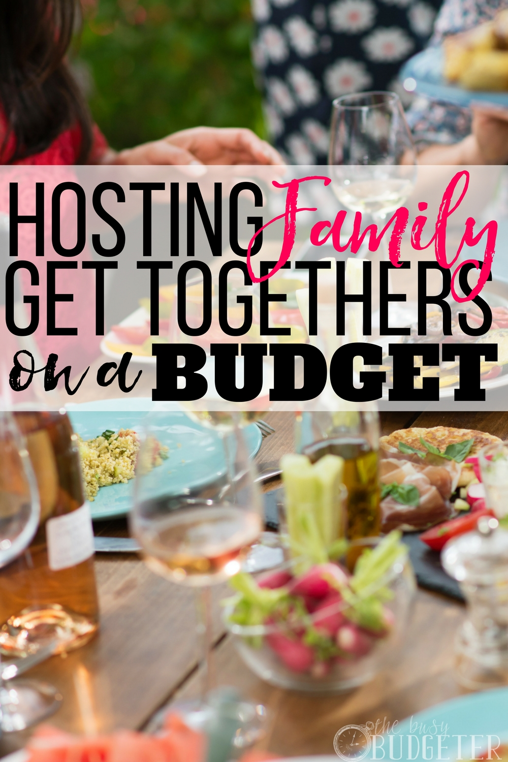 Every year MY home is where we host family get-togethers and I'm always worried about sticking to a budget. These are great budget party tips! Definitely save this post if you want to throw a fun family party for LESS!