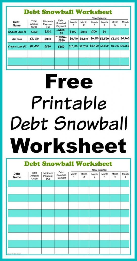 budget template to pay off debt the ultimate list of budgeting printables from pinterest