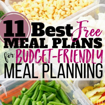The BEST free meal plans! I have always struggled with meal planning but WOW this article is such a great resource that helps me save money on groceries AND it helped me choose a totally free meal plan that acutally works for my crazy family!