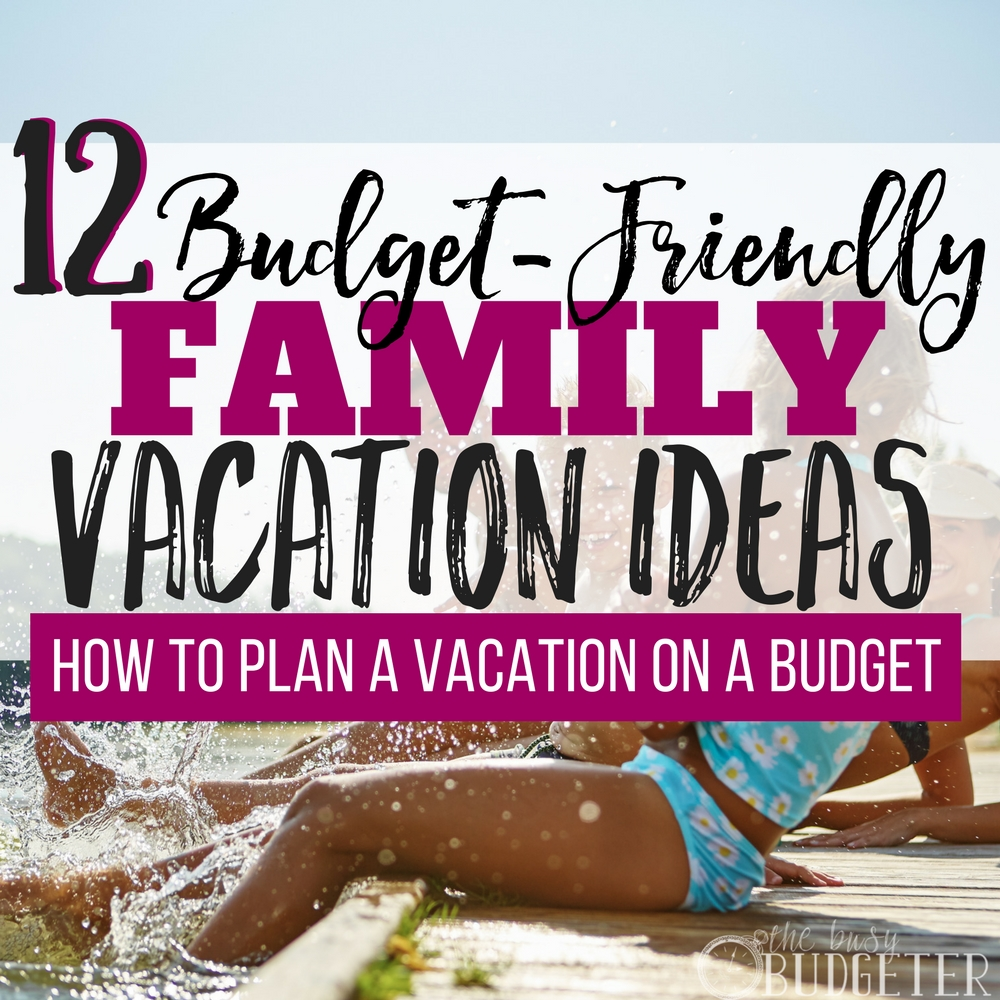 I never knew how to plan on vacation on a budget without tons of stress and planning. These budget friendly family vacations are totally doable on our tight budget! My kids are going to have so much fun this summer.. such a great article-- I can't wait to start planning vacation!